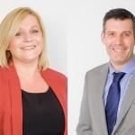 Tim Harris and Jane Leggett