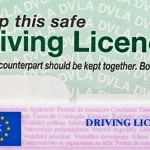 UK driving licence counterpart