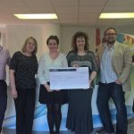 Finch Group present charity with cheque for £3654