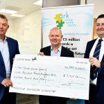 Finch raise money for Ark Cancer Centre
